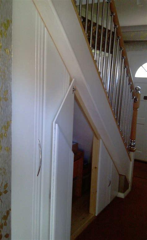 Understairs Cupboard Door - 17 best images about stairs storage on