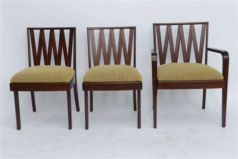 classic 1940 s paul frankl dining chairs for johnson