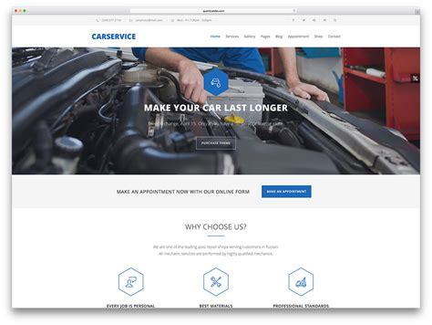 Design Your Own Home Addition Free 15 auto service car repair shop wordpress themes 2018