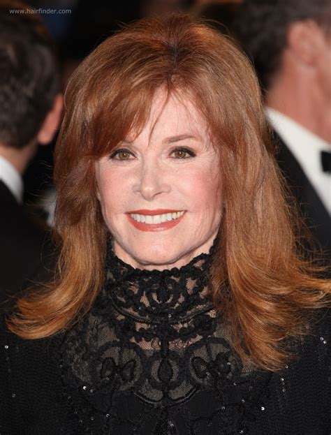 hair styles on pinterest round faces stephanie powers stefanie powers flattering long hairstyle for a 70 years