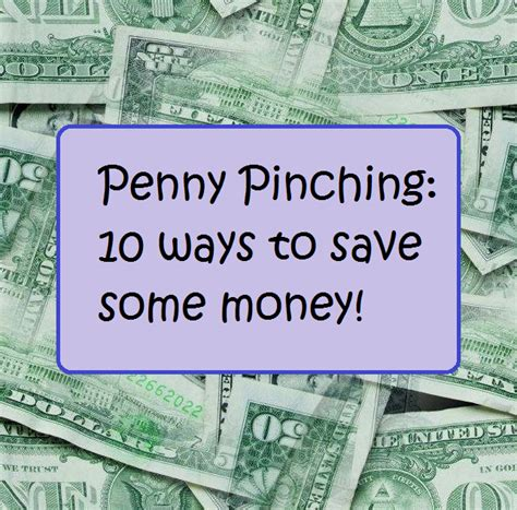 7 Ways To Pinch Your Pennies by Bohemian Workshop Pinching 10 Ways To Save