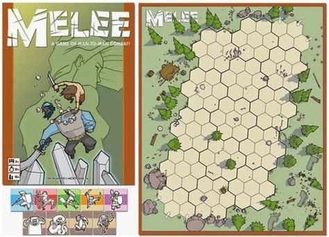 printable board game counters print and play board games melee