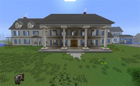 build a mansion seven postwhite mansion minecraft project