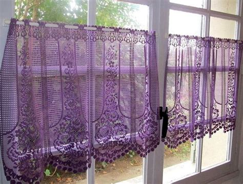 Purple Kitchen Curtains Purple Kitchen Curtains Purple Color Tier Kitchen Curtain Two Panel Set Pretty Purple Kitchen