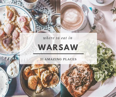 The Best Place To Eat In 2 Reasons by Where To Eat In Warsaw 21 Amazing Places You Absolutely