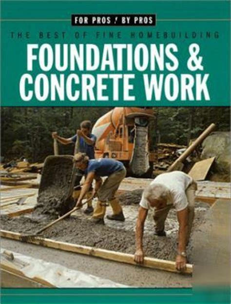 foundations concrete work books new how to home foundations concrete work block masonry