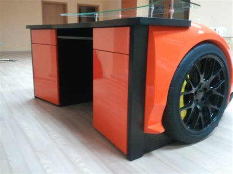 Car Office Desk For The Who Has Everything A Lamborghini Desk
