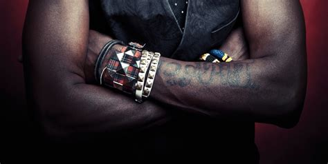 tribal tattoos on black skin a darker canvas tattoos and the black