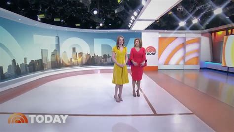 today show set exclusive today goes sunny side up with new studio 1a