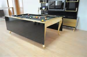 Pool table dining 6
