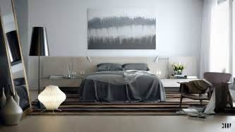 grey brown white bedroom scheme interior design ideas