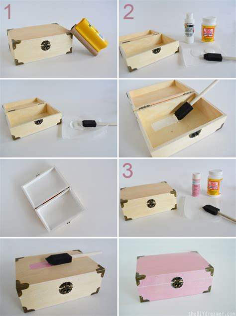 How To Make A Paper In The Box - custom treasure box the d i y dreamer