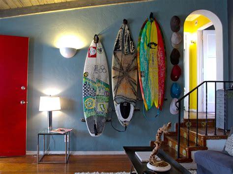 surf decoration colorful coastal design hgtv