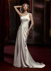 one shoulder wedding dresses 20 one shoulder wedding dresses for brides beep