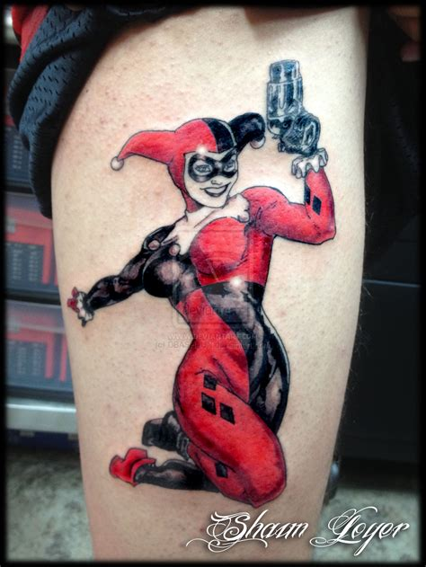 harley quinn pin up tattoo harley inked harley quinn search and