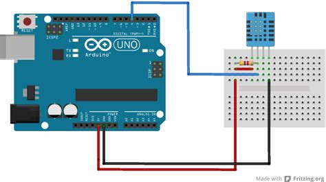 arduino code for dht11 dht11 sensor exle arduino learning