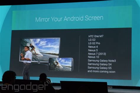 chromecast extension android android screen mirroring coming to chromecast chromecast extension