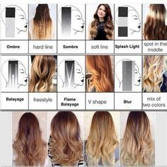 highlight foil layouts before and after full head of highlights and 83 foils