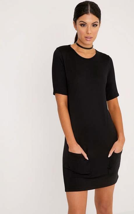 Basic Sleeve Dress basic black dress with sleeves