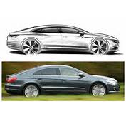 Those Of The Outgoing Passat CC – Car It Is Designed To Replace