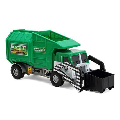 tonka mighty motorized truck tonka mighty motorized front loading garbage truck