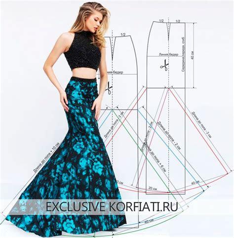 25 best ideas about mermaid skirt pattern on