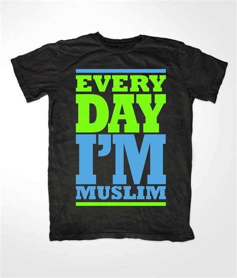 Kaos Muslim Every Day Im Muslim hezbollah t shirts