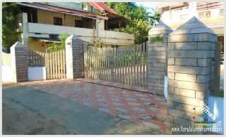 kerala home gates design colour compound gate designs in keralareal estate kerala free classifieds