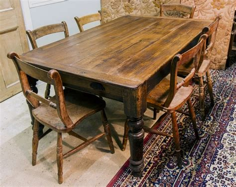 antique pine dining table ft browns antiques billiards