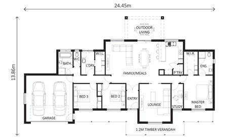 lewis homes floor plans lewis homes floor plans pioneer 259 wodonga house packages