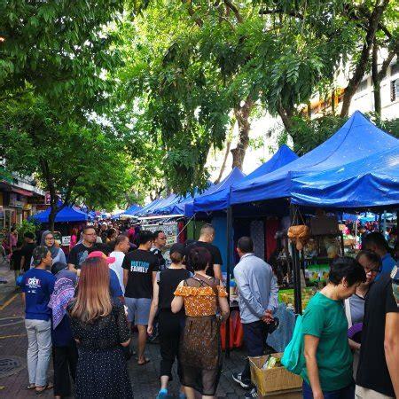 pasar minggu jalan gaya kota kinabalu malaysia review