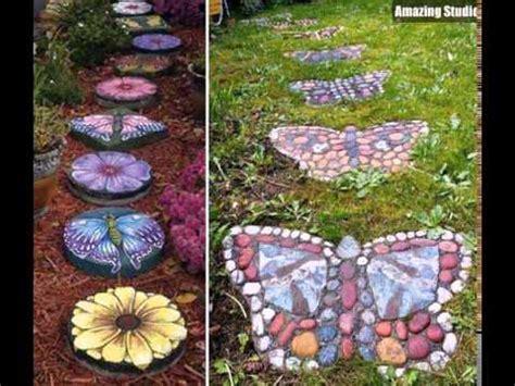 diy garden diy garden stepping stones