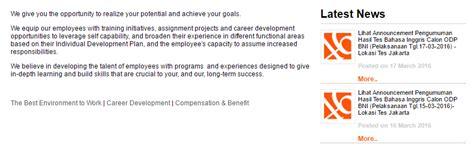 daftar lowongan kerja bank bni pacitan terbaru  kerjasurabayacom