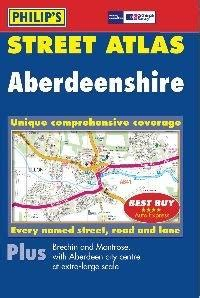 scotland pocket map books aberdeenshire scotland pocket atlas philip s map