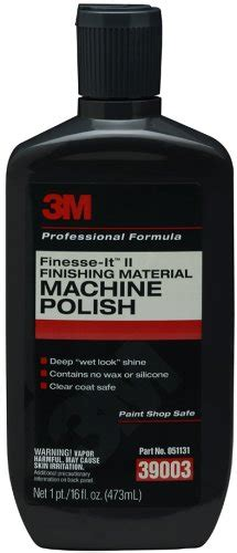 3m Buffer Microfine 3m 39003 finesse it ii finishing material machine 16 fl oz johnny s replacement parts