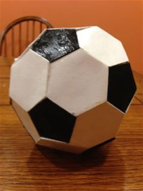 How To Make A Soccer Out Of Paper - 1000 images about things i made on paper