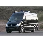 Also A Modified Mercedes Benz Sprinter Van With Dually Rear Axle