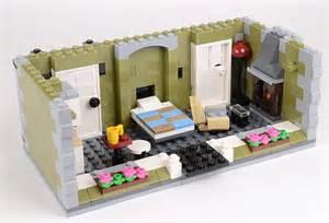 Small Attic Bathroom Review 10243 Parisian Restaurant Part 2 Brickset Lego