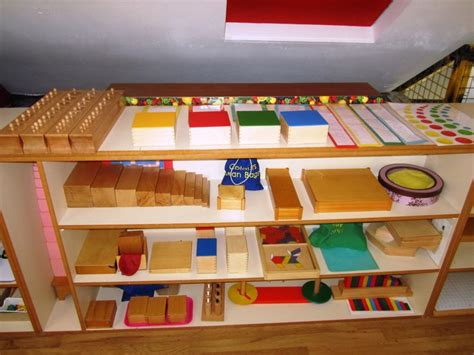 14 best montessori shelves sensorial images on pinterest
