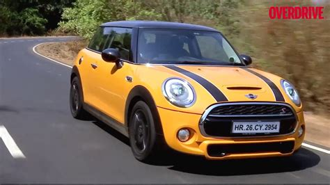 Mini Cooper India 2017 mini cooper s jcw review in india overdrive youtube