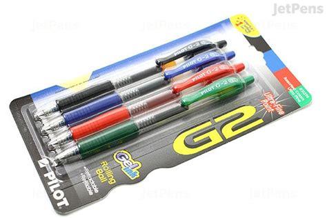 Color Ink Pen 0 38 Mm pilot g2 gel pen 0 38 mm 4 color pack jetpens