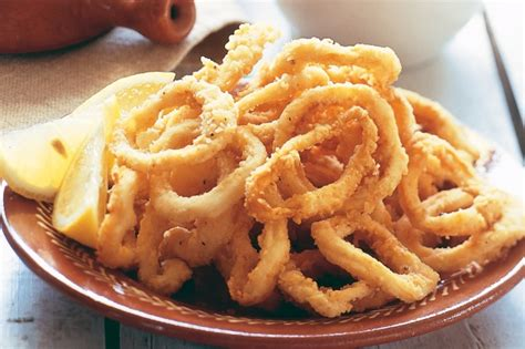 crispy squid recipe taste com au