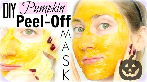 peel mask diy diy peel pumpkin pie mask brightening fights