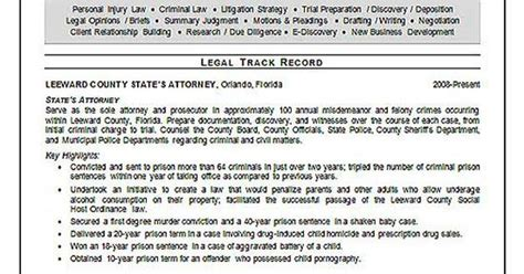 trial attorney resume sles trial attorney resume exle resume exles resume and trials