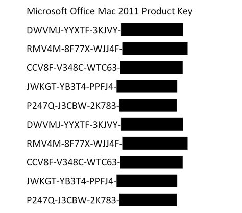 Microsoft Office 2011 Product Key by Office Mac 2011 Product Key Free