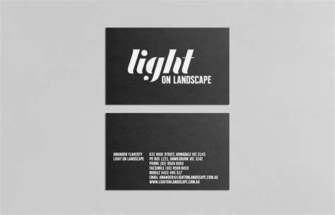 home design outdoor living credit card light on landscape business card design inspiration