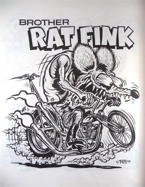 nostalgia on wheels 1960 s rat fink monster coloring book