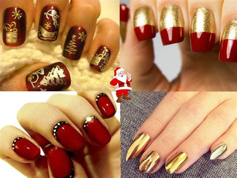beautiful christmas nail art ideas gravetics