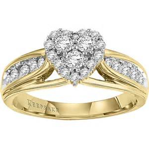 walmart gold wedding rings keepsake hearts desire 5 8 carat t w 14kt yellow