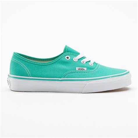 vans sneakers for buy vans u authentic pool green true white skate shoes